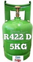 GAS r422d 5 kg Produkt Netto leer 7 Lt im Preis enthalten - Hinweis: für die Beschaffung von Gasen ist obligatorisch patentino oder Erklärung von Kauf für Wiederverkauf