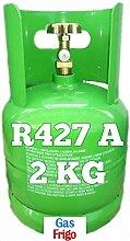 GAS r427 a 2 kg Produkt Netto leer 7 Lt im Preis enthalten - Hinweis: für die Beschaffung von Gasen ist obligatorisch patentino oder Erklärung von Kauf für Wiederverkauf