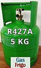 GAS r427 a 5 kg Produkt Netto leer 7 Lt im Preis enthalten