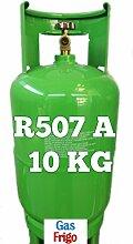 GAS R507 A 10 kg Produkt Netto leer 13 Lt im Preis enthalten