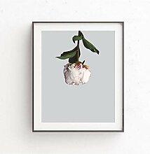 GASFG Blumenbild Leinwanddruck Wandkunst