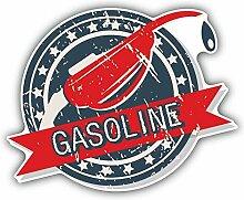 Gasoline Oil Garage Auto Service Retro Label Hochwertigen Auto-Autoaufkleber 12 x 10 cm