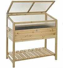 GASPO Hochbeet für Balkon und Garten | Frühbeet