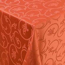 Gastro Barock Tischdecke Eckig 130x250 cm