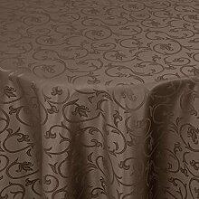 Gastro Barock Tischdecke Oval 160x220 cm