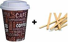 Gastro-Bedarf-Gutheil 100 Cafe to go Kaffeebecher