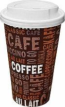 Gastro-Bedarf-Gutheil 100 Kaffeebecher Pappe 400ml