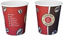 Gastro-Bedarf-Gutheil 1000 Kaffeebecher weiss