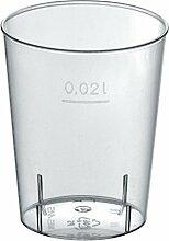 Gastro-Bedarf-Gutheil 2700 x Schnapsglas Plastik