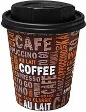 Gastro-Bedarf-Gutheil Kaffeebecher Pappe 300ml /