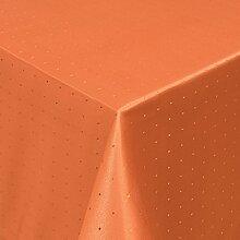Gastro Punkte Tischdecke Eckig 130x250 cm