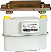 Gaszähler G4 6 m³ Einrohr Zweirohr 130,250. ( 250mm mit Montagekonsole )