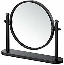 Gatco Table Mirror Tischspiegel, Matte Black