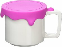 Gattola Medium Keramik Farbe Becher, Pink