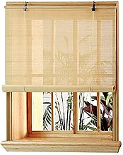 GAXQFEI Außen-Pavillon-Fenster Bambus-Rollos, 50