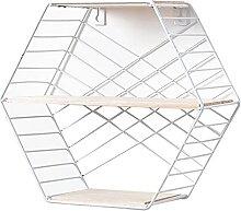 GAXQFEI Floating Regal Geometrisches Sechseck