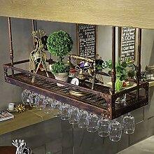 GAXQFEI Küche Weinglas Lagerregal