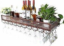 GAXQFEI Küchenweinglas Aufbewahrungsgestelle