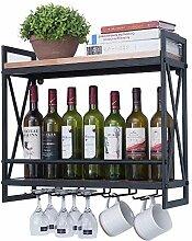 GAXQFEI Küchenweinglas Lagergestell Modern