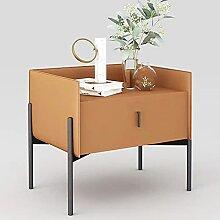 GAXQFEI Nachttisch Holzschrank Mit Schublade