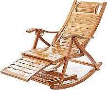 GAXQFEI Outdoor Relaxsessel - Holz Home Balkon