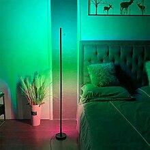 GAXQFEI Stehleuchte Schlafzimmer, Led Bodenlicht