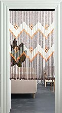 GAXQFEI Tür-Perlen-Vorhang, Handgefertigte St