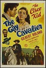 Gay Cavalier Poster 01 Metal Sign A4 12x8 Aluminium