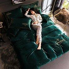 GAYOUS Bettbezüge mit Reißverschluss,Herbst und