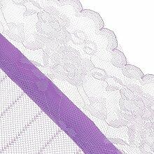 Gazechimp 1x Polyester Magnet Fliegeninsekten Tür Vorhang - Lila, 100cmx210cm