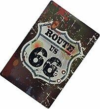 Gazechimp 20x30cm Vintage Metall Blechschild Kunstplakat Café Bar Pub Platte 20 Ver. Muster - Muster 5, 20x30cm