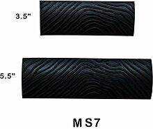 Gazechimp 2pcs S-Form Groß Holzmaserung Design Maserboy aus Gummi