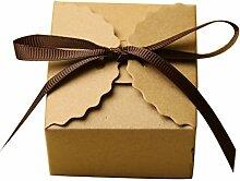 Gazechimp 50 X Platz Gastgeschenk Geschenkbox