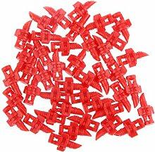 Gazechimp 50x Sprühdüse Micro Drip Düse Regendüse Sprühwinkel 360°
