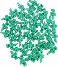 Gazechimp 50x Sprühdüse Spritzdüse Micro Drip Regendüse Sprühwinkel 180°