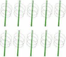 Gazechimp 60cm Pflanzstab Rankstäbe für Garten Set/10Stück
