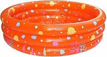 Gazechimp Aufblasbare Rund Schwimmbad Ball Grube Für Baby Kinder Outdoor Indoor Aktivitäten Garten Parteien Spaß Spiel - Orange
