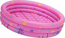 Gazechimp Aufblasbare Rund Schwimmbad Ball Grube Für Baby Kinder Outdoor Indoor Aktivitäten Garten Parteien Spaß Spiel - Rosa