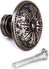 Gazechimp Dekorative Vintage Rund Möbelknöpfe Bronze Schranktür Schublade