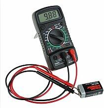 Gazechimp Digital LCD Multimeter 200V / 600V Voltmeter Amperemeter Ohmmeter Tester DC / AC-Spannung Schwarz