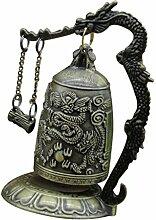 Gazechimp Drachen Glocke-Deko