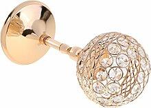 Gazechimp Europäischer Teelichthalter Kerzenständer Kerzenhalter, Hochzeit Fest Haus Dekoration - Golden, 28cm