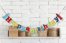 Gazechimp Happy Birthday + Kerze Muster ,