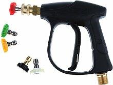 Gazechimp Hochdruck Reiniger Pistole Reinigungs Autowasch Pistole mit Düse Se