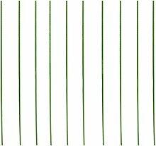 Gazechimp Pflanzstab Rankstäbe für Garten Set/10Stück - 8mm