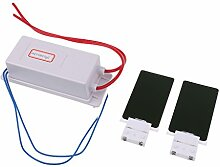 Gazechimp Portable Ozongenerator Luftreiniger Kit mit zwei Ersatz Ozon Keramikplatte - Weiß - 110 Vol