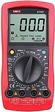 Gazechimp Premium Digital Multimeter Vollautomatisches Multimeter mit 1999 Counts Spannungsmesser, Stromprüfer, Kapazität, Frequenz