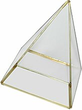 Gazechimp Unregelmäßige Glas mini Geometric Gartenhaus Glasterrarium Pflanzen Blumen Vase Box Terrarium Container - S