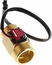 Gazechimp Wasserdurchflusssensor Schalter wasserdurchfluss Flüssigkeitsmesser 1 ~ 25L \ MIN