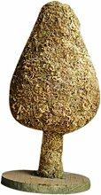Gazechimp Weihnachtsbaum Form Blumentopf Pflanztopf Bonsai Handwerk DIY Zubehör